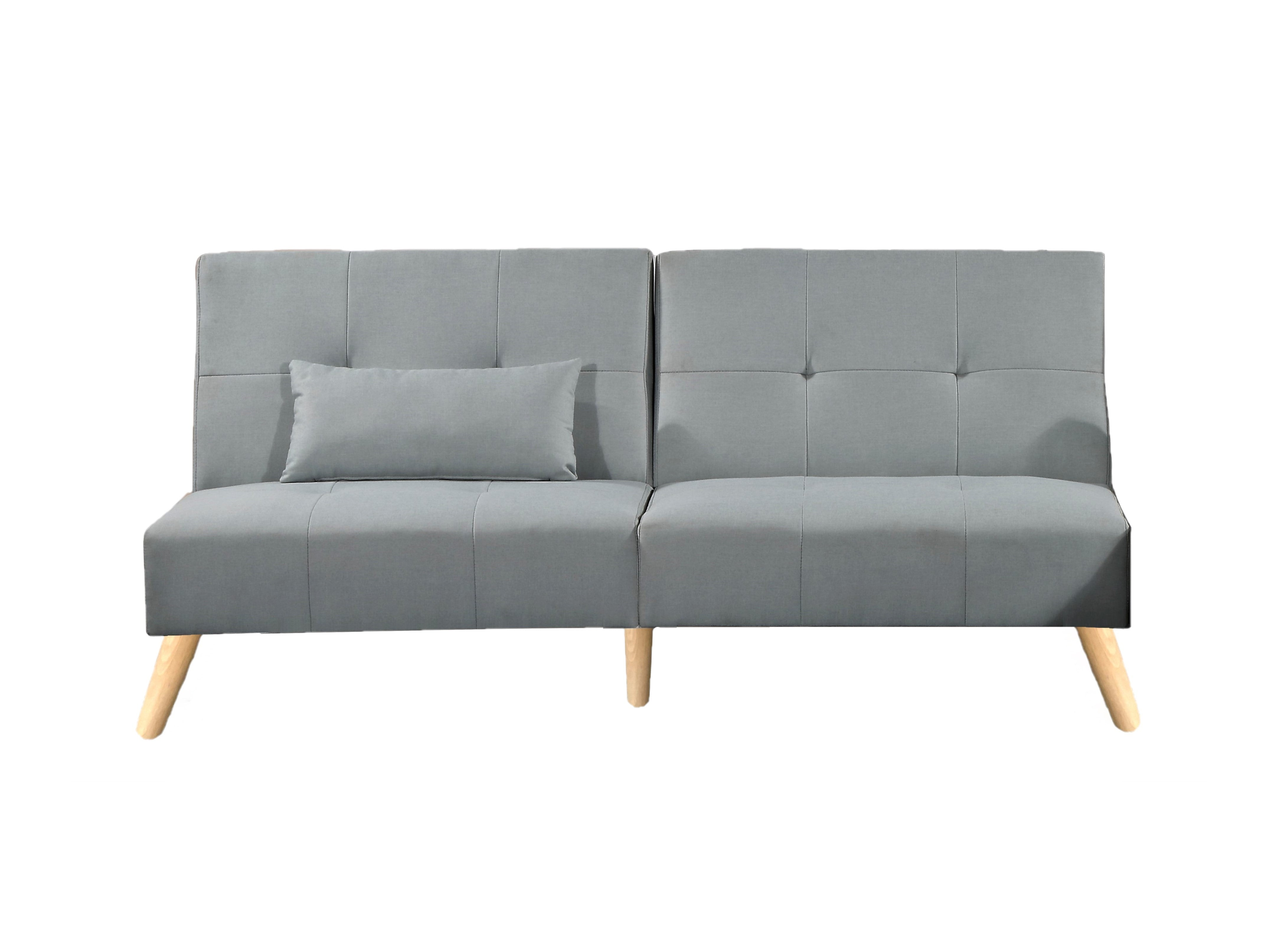 Sofabed Lounge Grey Fabric - Boston