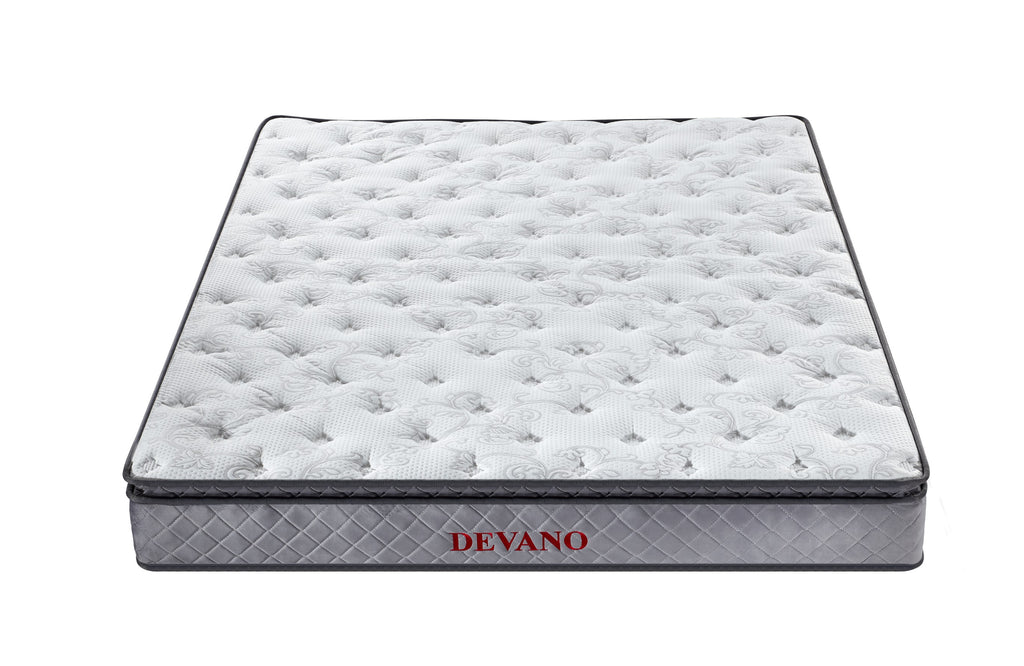 Devano Mattress (Super King, King, Queen) - Pocket Spring Pillow Top