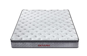 Mattress (Super King, King, Queen) - Devano Pocket Spring Pillow Top