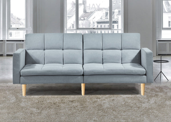 Sofabed New York - Grey Fabric