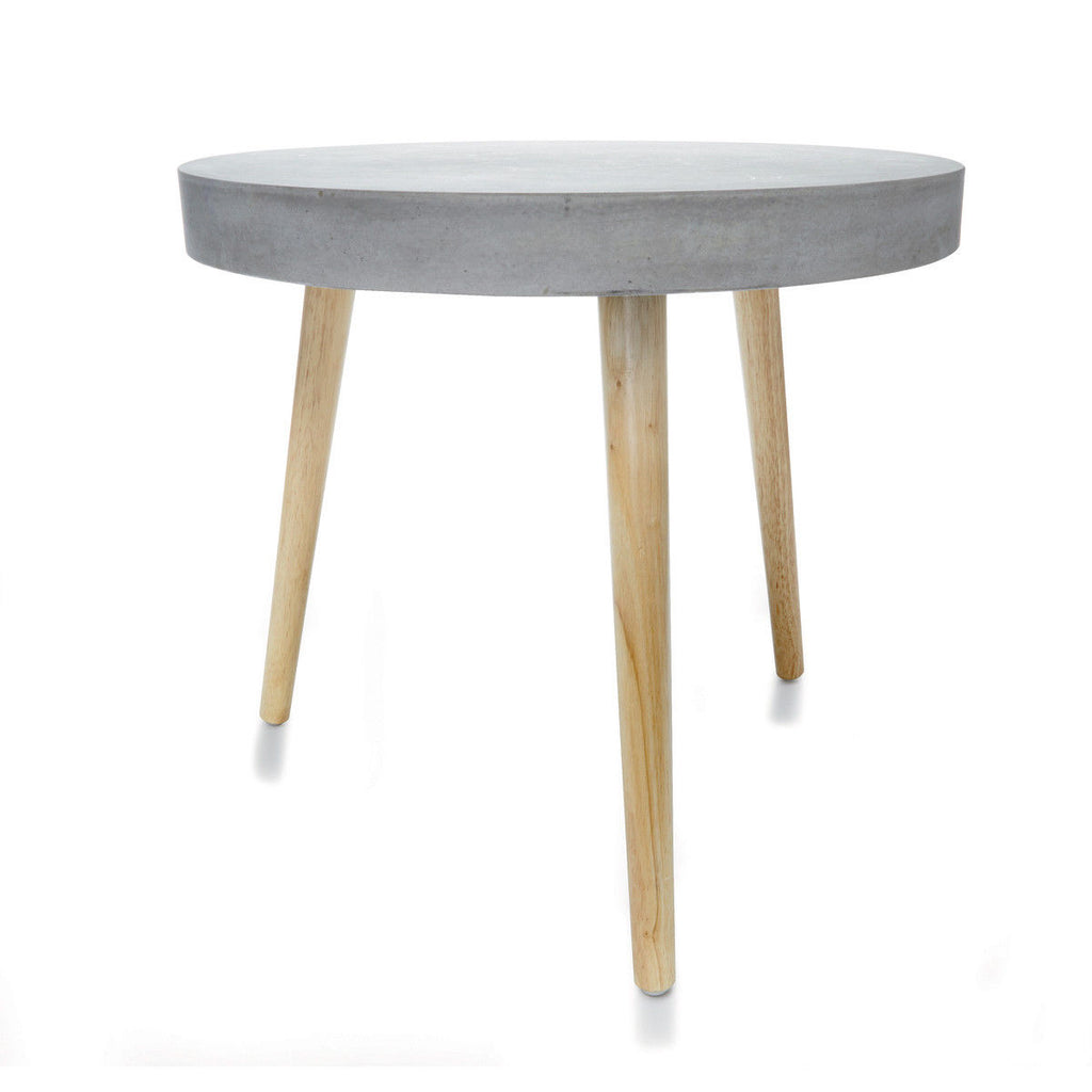 Genuine Concrete Side Table