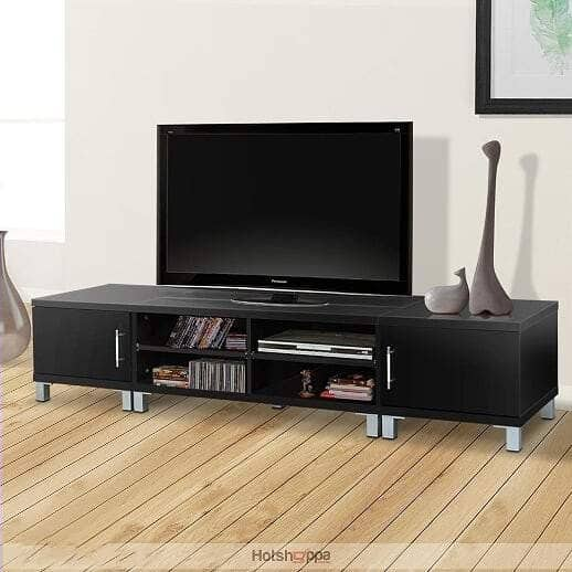 TV Cabinet Entertainment Unit - Black