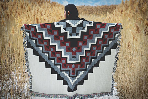 """New Life"" Throw Blanket"