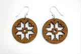 Navajo Snowflake Earrings