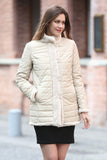Beige Practic Revesible Short Jacket Fabulous Faux Fur Coat - Adelaqueen - 1