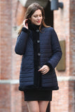 Blue Practic Revesible Short Jacket Fabulous Faux Fur Coat - Adelaqueen - 2
