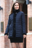 Blue Practic Revesible Short Jacket Fabulous Faux Fur Coat - Adelaqueen - 3
