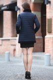 Blue Practic Revesible Short Jacket Fabulous Faux Fur Coat - Adelaqueen - 5