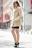 Beige Lightweight Jacket Shaggy Faux Fur Coat Velvety Soft - Adelaqueen - 5
