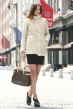 Beige Practic Revesible Short Jacket Fabulous Faux Fur Coat - Adelaqueen - 8