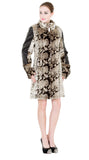 NEW ITALY STYLE ANIMAL PRINT FAUX LEATHER JACKET - Adelaqueen - 3