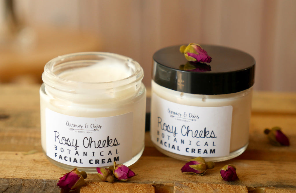 Rosy Cheeks Botanical Facial Cream