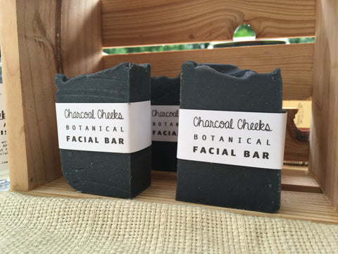Charcoal Cheeks Botanical Facial Bar