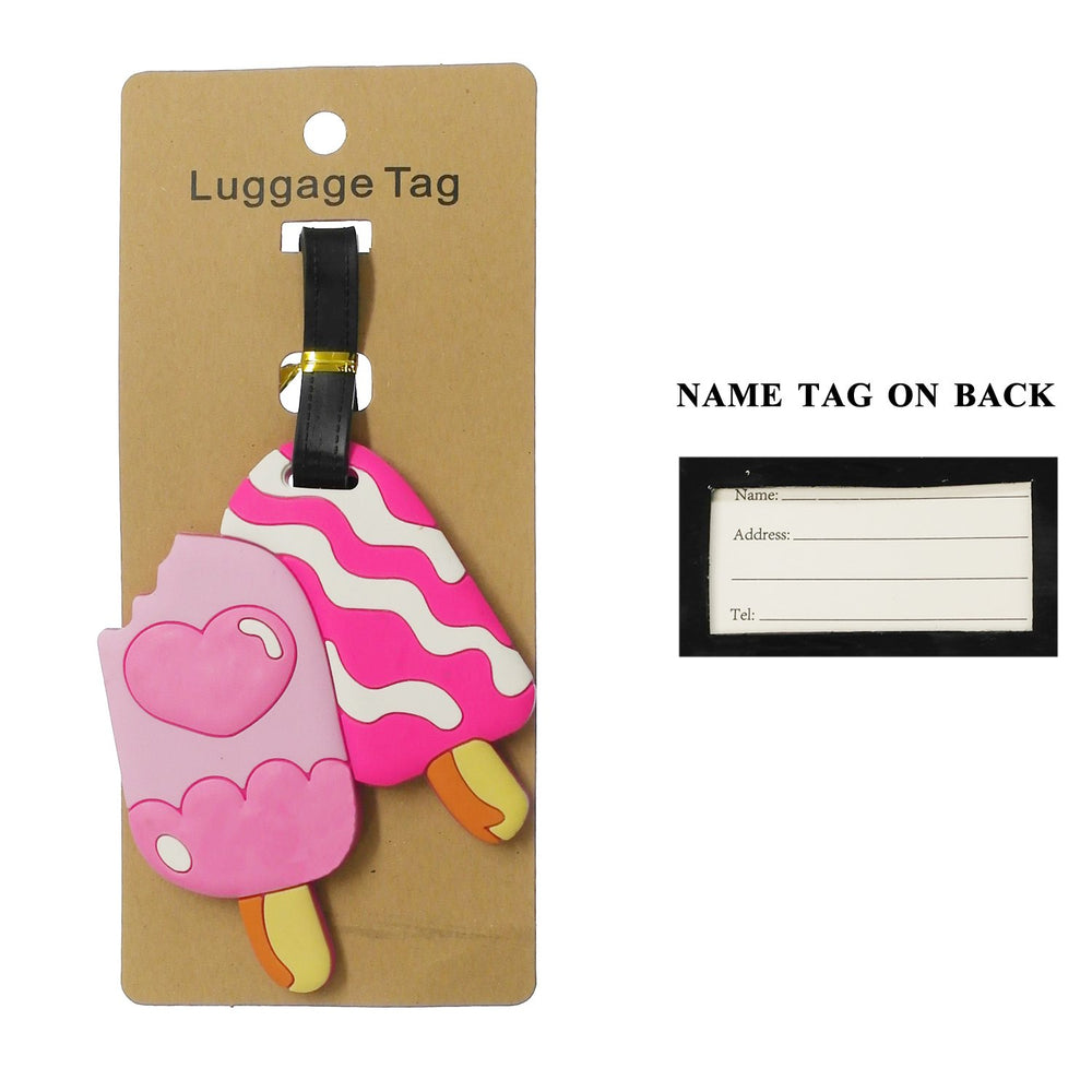 Pink Popsicle's Luggage Tag  - TAG1020PK