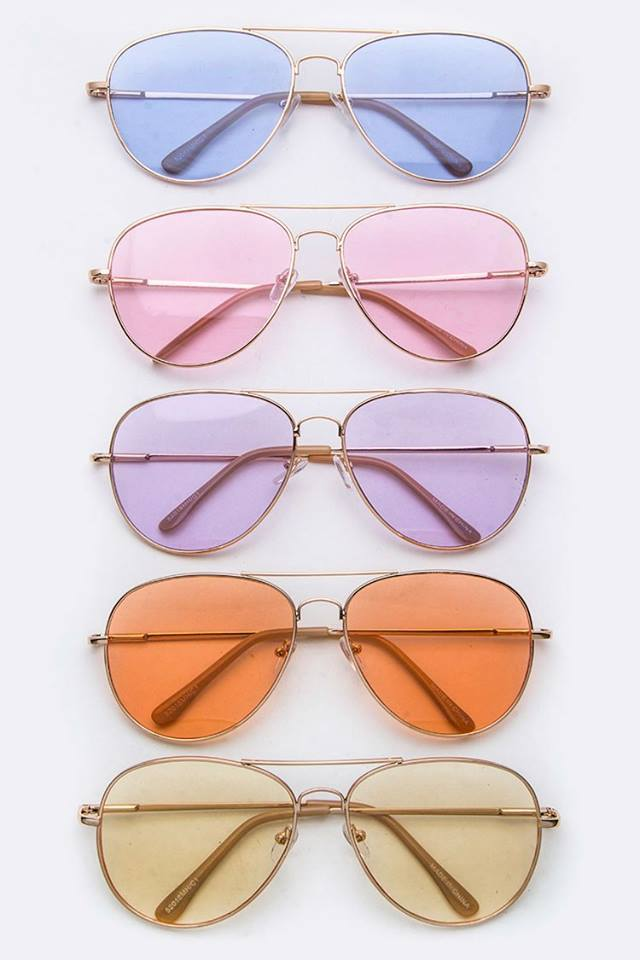 Classic Fit Aviators With FREE Hard Case - AVI1001
