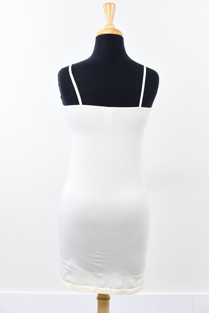 Ivory Cami Slip Dress (Sizes 12-18) - SLP004IV