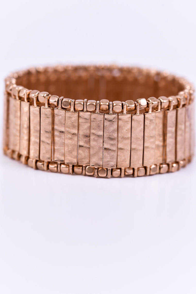 Copper Stretch Bracelet - BRC1577CP