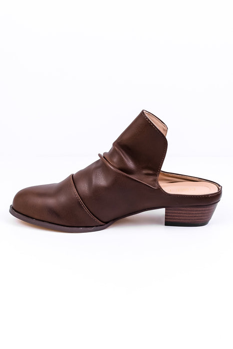 Classic Move Brown Mule Shoes - SHO1229BR