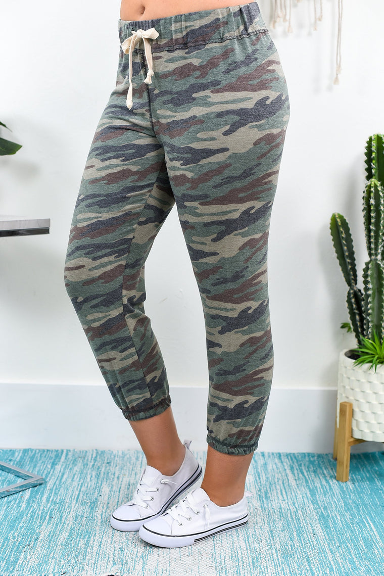 Time For Adventure Camouflage Joggers - JOG1000CA