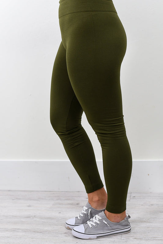 Fleece Leggings (Sizes 4-12)