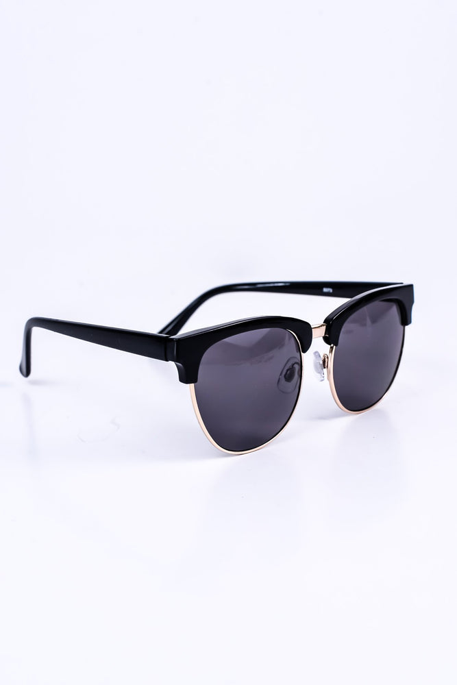 Black/Smoke Lens Sunglasses - SGL126BK - FREE hard case
