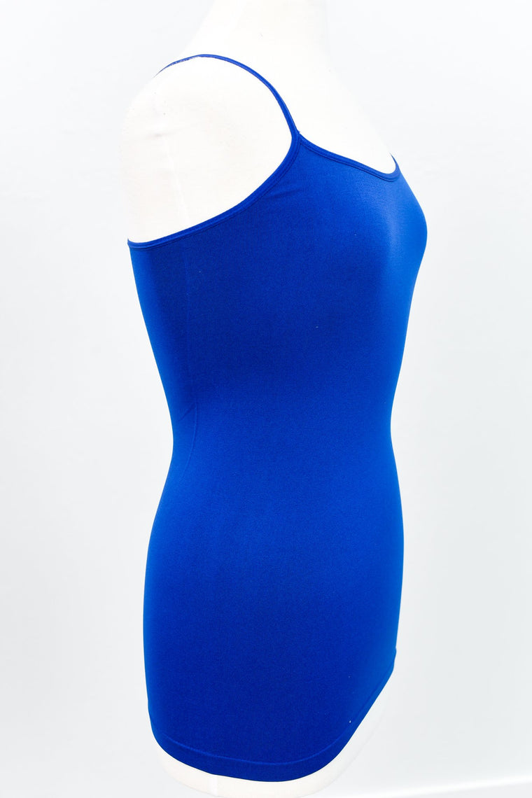 Royal Blue Basic Seamless Cami (Sizes 4-12) - CAM767RB