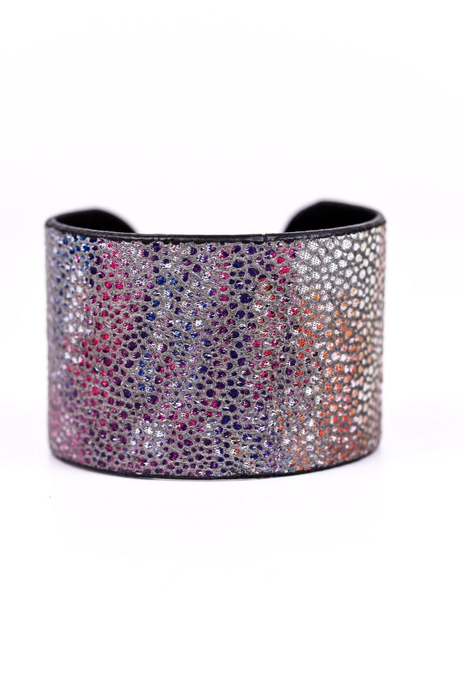 Mint/Multi Color Cuff Bracelet - BRC2117MT