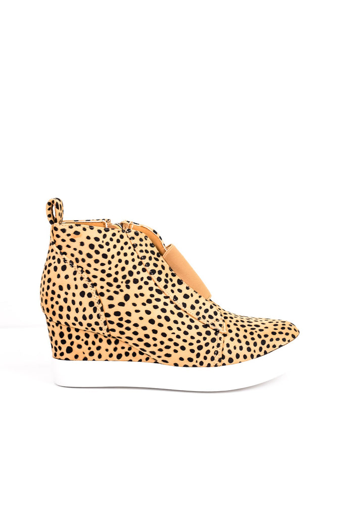 Dedicated To You Cheetah Wedge Booties - SHO1521CH