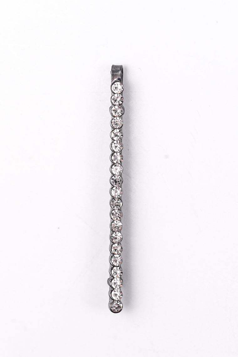 Platinum Bling Bobby Pin/Hair Clip - CLP129PL