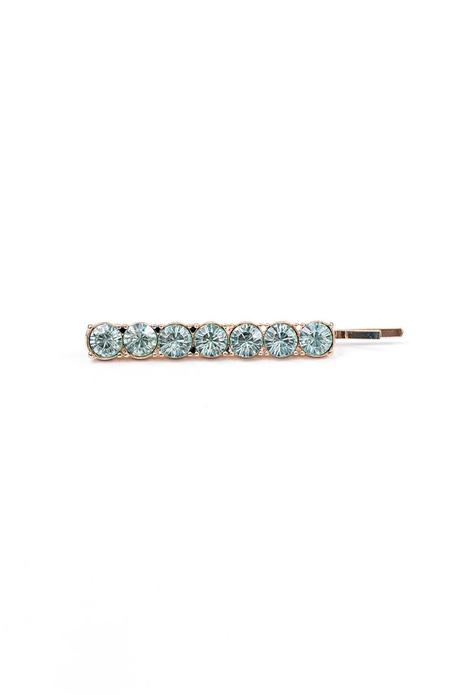 Mint Bling Hair Clip - CLP125MT