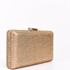 Bling Queen Gold Bling Clutch Bag - BAG1303GO
