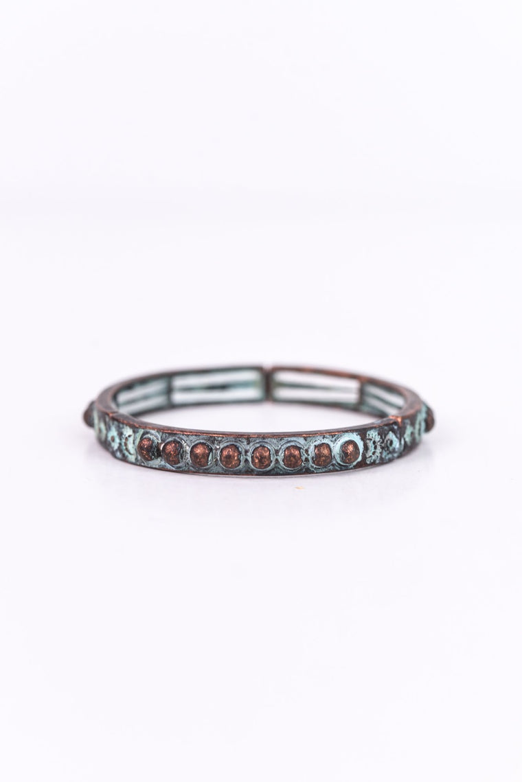 Patina Stretch Bracelet - BRC2359PA