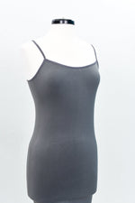 Gray Cami Slip Dress (Sizes 12-18) - SLP004GR