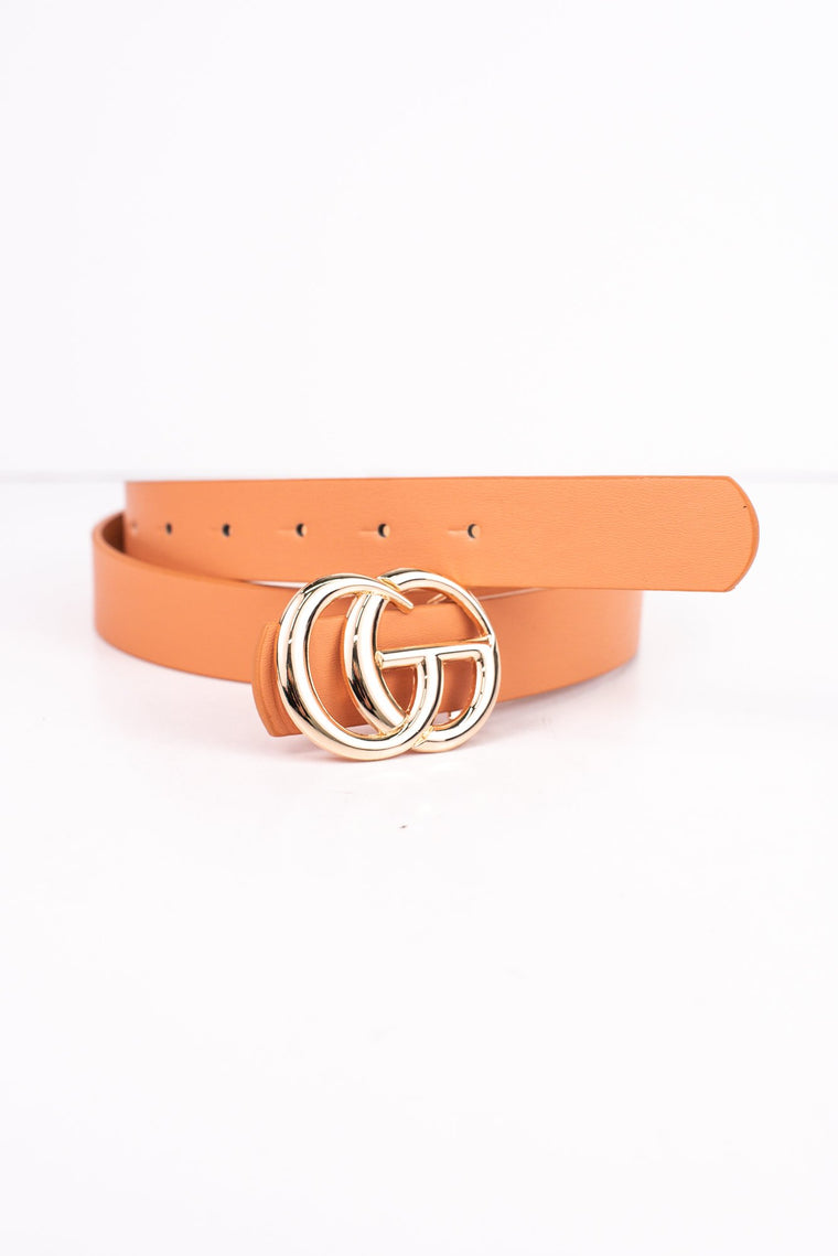 Clay/Gold Belt - BLT1052CY