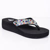 Born To Shine Multi Color Bling Sandals - SHO1697MU