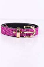 Fuchsia Bling Belt - BLT1058FU