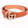 Cognac/Gold Belt - BLT1062CGN