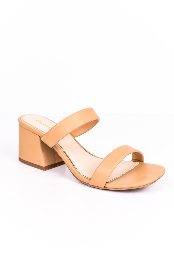 At The Peak Of Fashion Tan Shoes - SHO1742TN