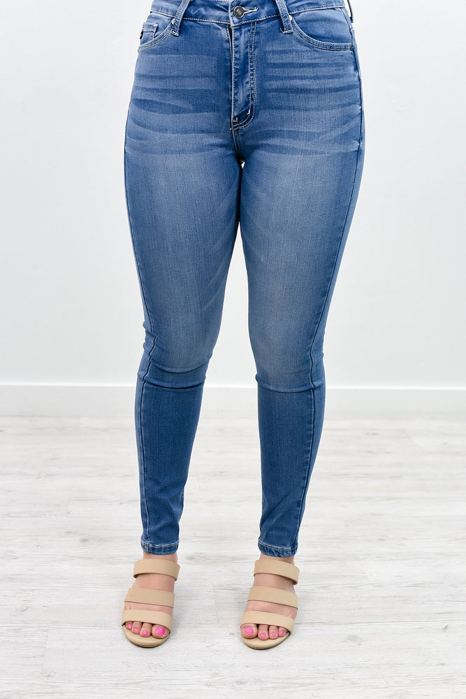 Spotlight Moment Medium Denim Jeans - K411DN