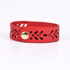 I Am Enough Red Snap Bracelet - BRC2550RD