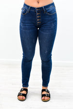 Nothing To Hide Dark Denim Jeans - K465DN