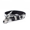 Black/Silver Star Bling Belt - BLT1076BK
