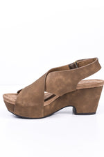 Left Me In Awe Taupe Wedges - SHO1812TA