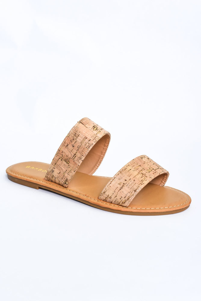 Weekend Ready Natural Sandals - SHO1843NA