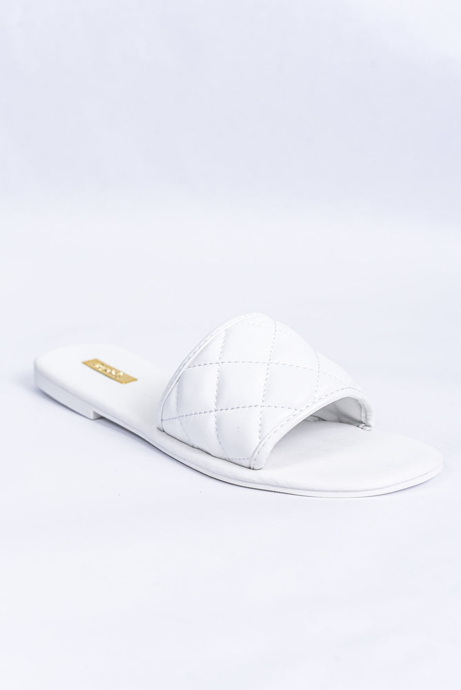 Every Little Step White Sandals - SHO1847WH