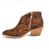 A Catch Like Me Brown Tiger Striped Booties - SHO1860BR