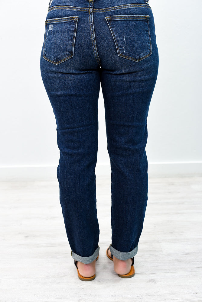 Out Of The Blue Dark Denim Jeans - K484DN