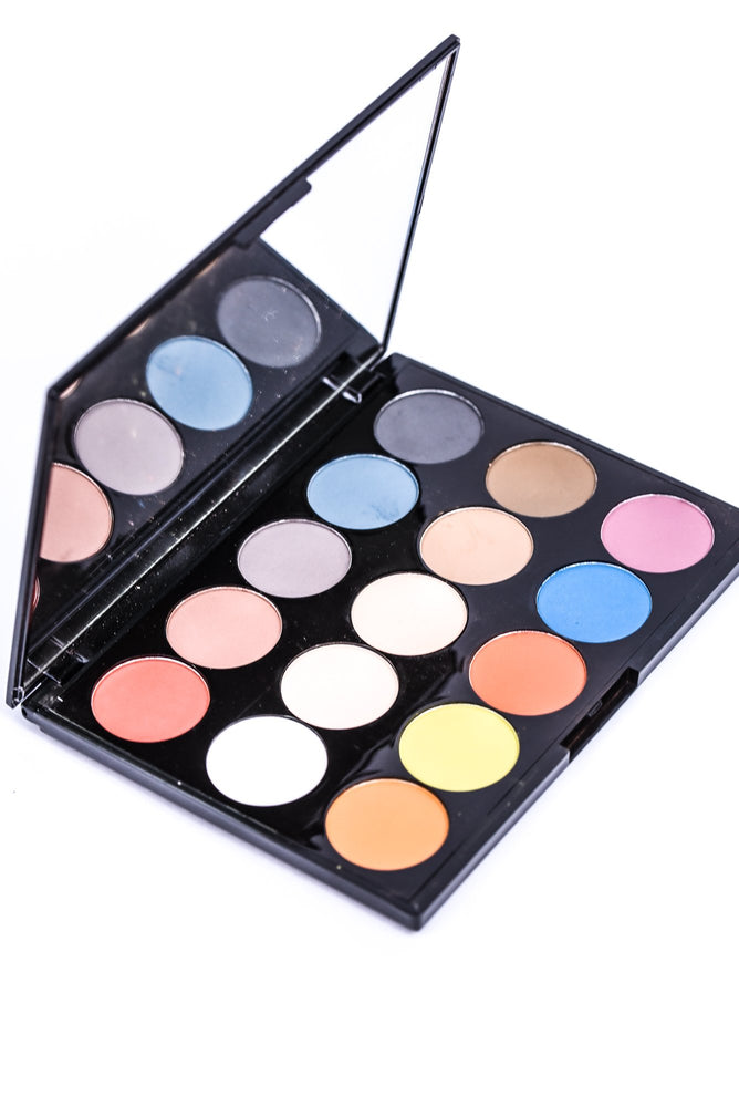 15 Shade Eyeshadow Palette- Fiesta Forever - I13AES