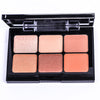 6 Shade Eyeshadow Palette - Warm Ginger Palette - ETM102GI