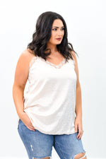 Telling You Everything Cream Leopard V Neck Top - B9411CR